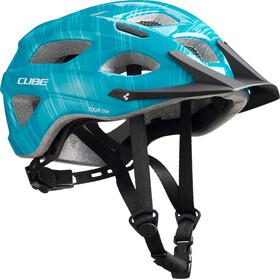 Cube Tour Lite casco per bici turchese